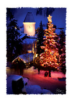 Vail Clock Tower Christmas